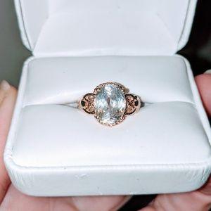 PRINCESS Rose Gold/ Morganite Engagement Ring!